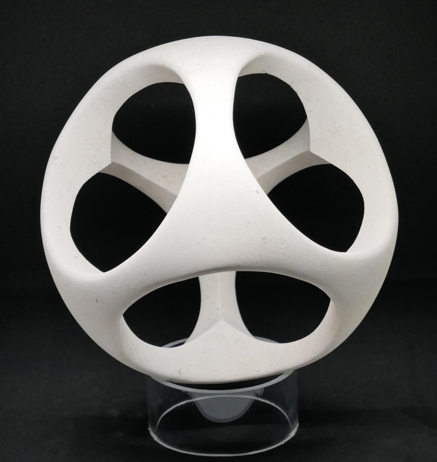 sculpture boule cube 2 - Copie