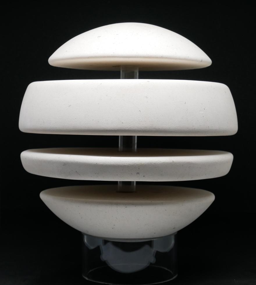 sculpture boule tranche doux